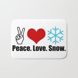 Love Snow Bath Mat