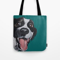 Maeby the border collie mix Tote Bag