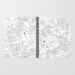 Marauder's Map Rug