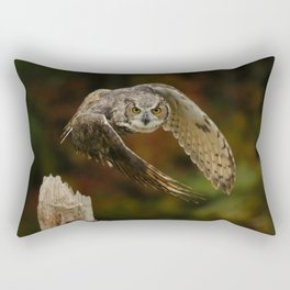 On A Mission Rectangular Pillow