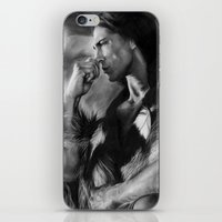 native american iPhone & iPod Skins featuring Native American  by Thubakabra