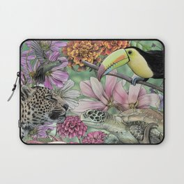 Flora and Fauna of Mexico Laptop Sleeve