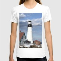 maine T-shirts featuring Coastal Maine by Jessi Trafton