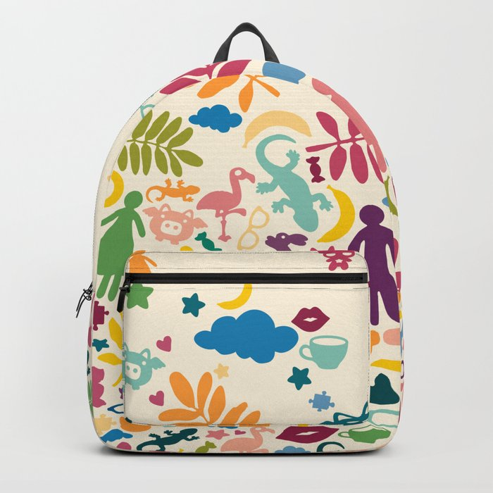 Colorful Paradise Backpack