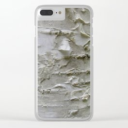 Birch Bark Clear iPhone Case
