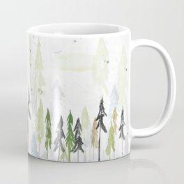 Into the woods woodland scene Coffee Mug