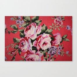 Floral Dress Canvas Print