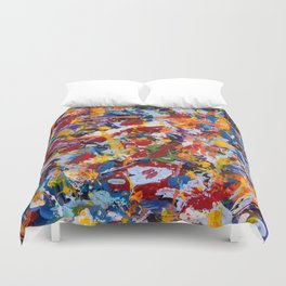Crippled thoughts Duvet Cover