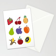 Fruits and Garden Stationery Cards