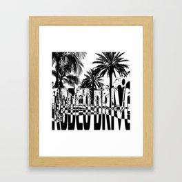 Rodeo Drive Framed Art Print