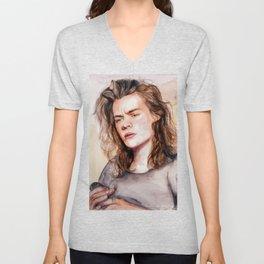 Harry watercolors III Unisex V-Neck