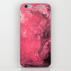 Pink and Purple Abstract I iPhone Skin