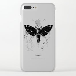 Cosmoth Clear iPhone Case
