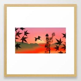 Japan culture Framed Art Print
