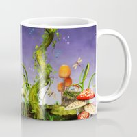 fairytale Mugs featuring fairytale by Ancello