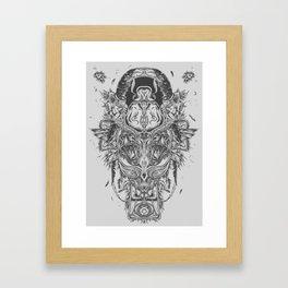 Khepra Framed Art Print