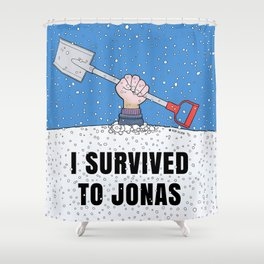 I SURVIVED TO JONAS Shower Curtain