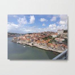 Porto Riverfront Metal Print