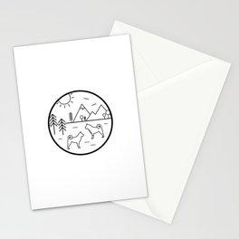 Akita Awesome Stationery Cards