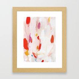Pinky Promise Framed Art Print