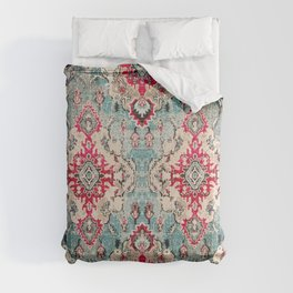 Heritage Farmhouse Style Traditional Oriental Moroccan Artwork Comforters