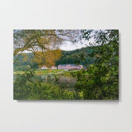 Saxon Switzerland, Germany Metal Print