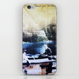 """Won't You Go Walking""  iPhone Skin"
