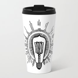 Lightbulb Travel Mug