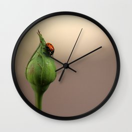 alone. Wall Clock