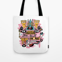Pizza Mystery Tote Bag
