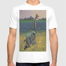 The truth of Loch Ness Mens Fitted Tee White MEDIUM