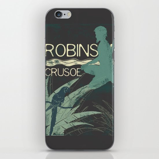 Books Collection: Robinson Crusoe iPhone Skin