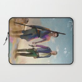 Rey and BB8 Laptop Sleeve
