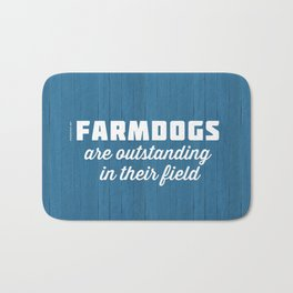Outstanding Farmdogs Bath Mat