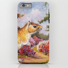 Banishing clouds in Kew iPhone Case