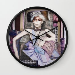 Lazy Sunday Wall Clock