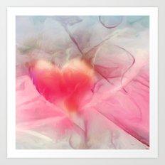 Love is in the air Art Print