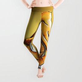 We Wear Gold In September Leggings