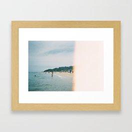 Blackrock Beach 2 Framed Art Print
