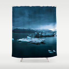 Blistering Cold Shower Curtain