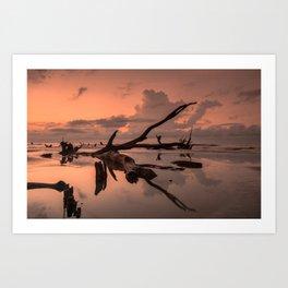 Boneyard Beach Sunrise Art Print