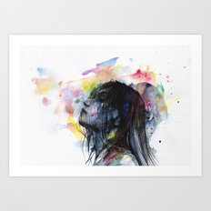 the layers within Art Print