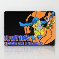 pooh iPad Cases featuring Bat Pooh! by Purple Cactus