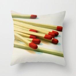 Matchpoint Throw Pillow