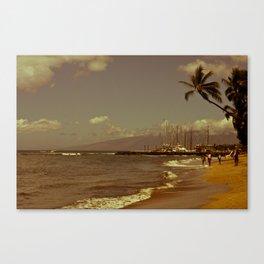 Vintage Maui Canvas Print