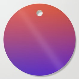 STEAM SCENE - Minimal Plain Soft Mood Color Blend Prints Cutting Board