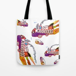 Childhood drawing Tote Bag