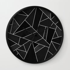 Black Stone Wall Clock