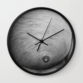 Dirty Pillows Right Wall Clock