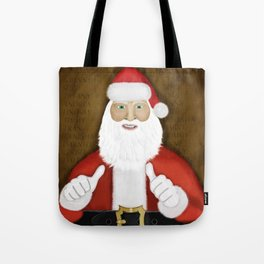 Thumbs (the Santa Claus edition) Tote Bag